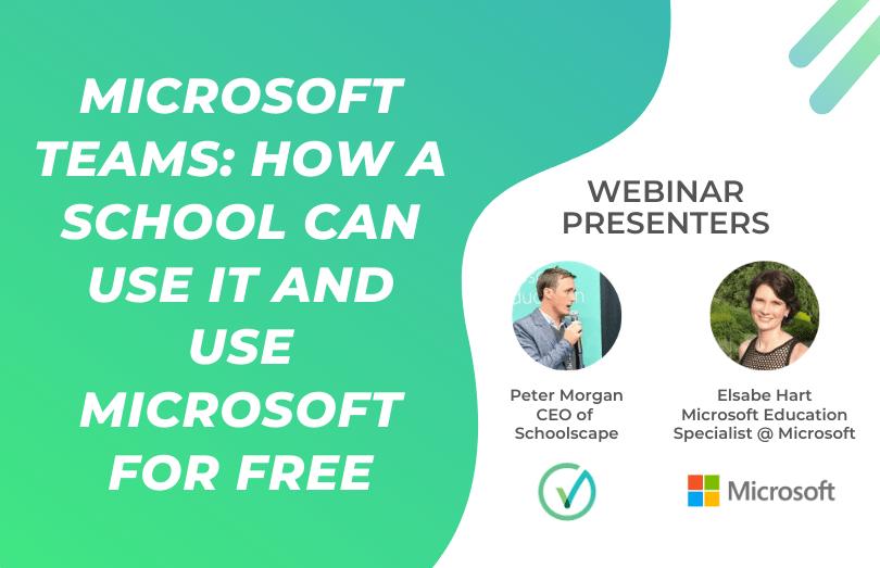 Schoolscape Online Webinar Thumbnail - Microsoft Educaition