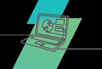 Schoolscape Laptop Drawing Cut